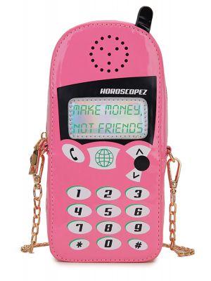 Retro Pembe Cep Telefonu Çanta