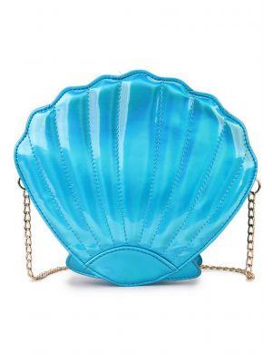 Mavi İstiridye Çanta