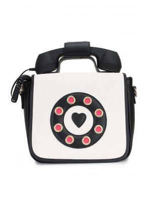 Retro Siyah-Beyaz Telefon Çanta