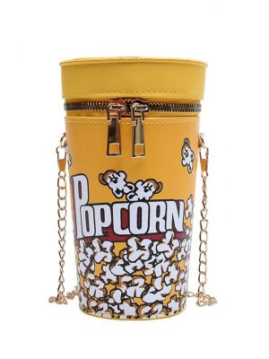 Popcorn Mini Silindir Çanta