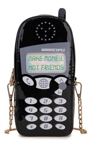Retro Siyah Cep Telefonu Çanta