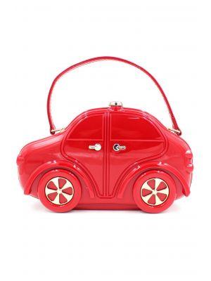 Araba Şeklinde Kırmızı Çanta