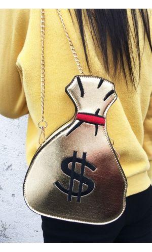 Dolar Kesesi Şeklinde Tasarım Çanta