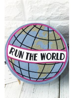 Run The World Mavi Çanta