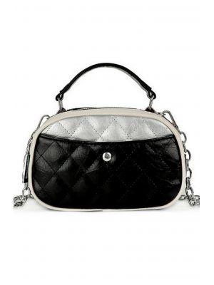 Siyah Detaylı Tasarım Çanta