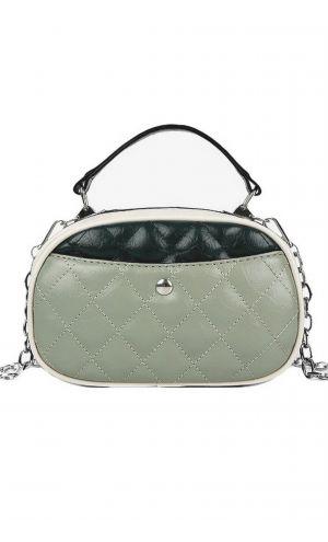 Yeşil Detaylı Tasarım Çanta